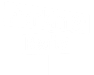 Franklin Street Realty Chapel Hill Real Estate Agents Logo White